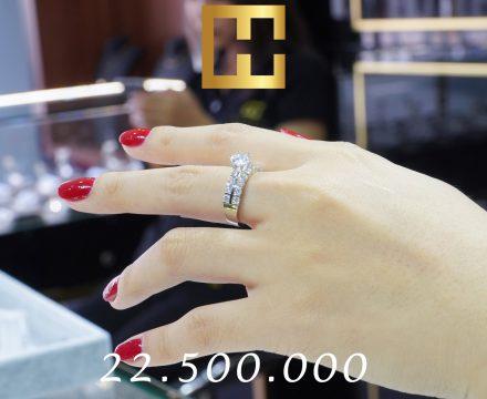NHẪN KIM CƯƠNG NỮ CAO HÙNG DIAMOND 005