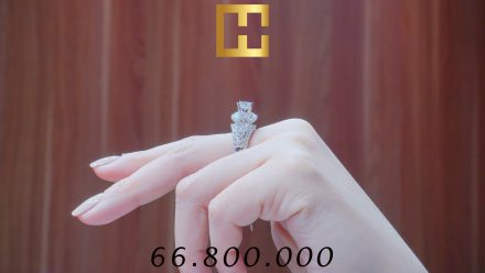 NHẪN KIM CƯƠNG NỮ CAO HÙNG DIAMOND 013