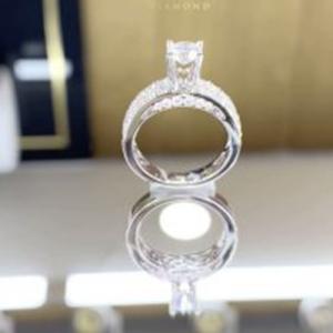 nhẫn kim cương nữ