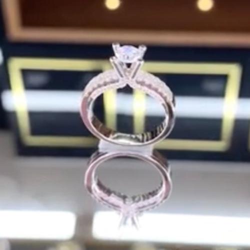 nhẫn kim cương 8