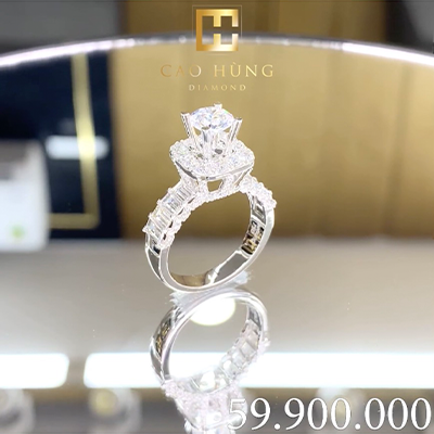 nhẫn kim cương cao hùng diamond