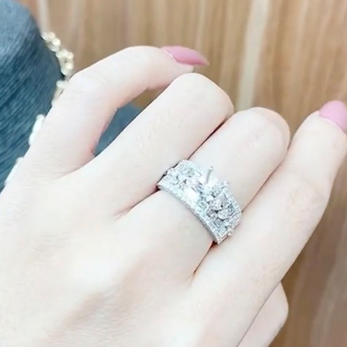 nhẫn kim cương nữ cao hùng 62tr