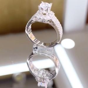 nhẫn kim cương nữ cao hùng diamond 30tr9