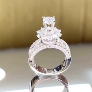 nhẫn kim cương nữ cao hùng diamond 65tr5