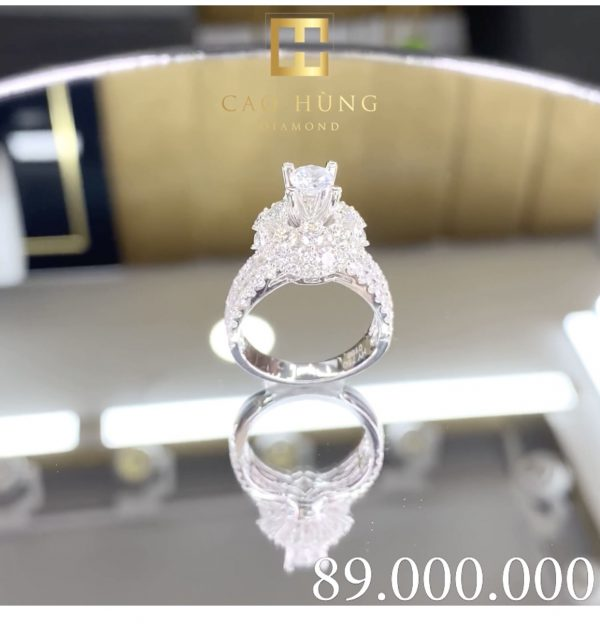 nhẫn kim cương cao hùng diamond 1