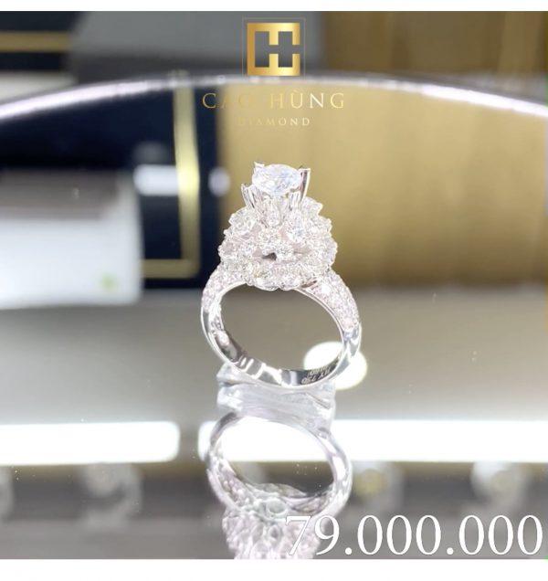 nhẫn kim cương cao hùng diamond 2
