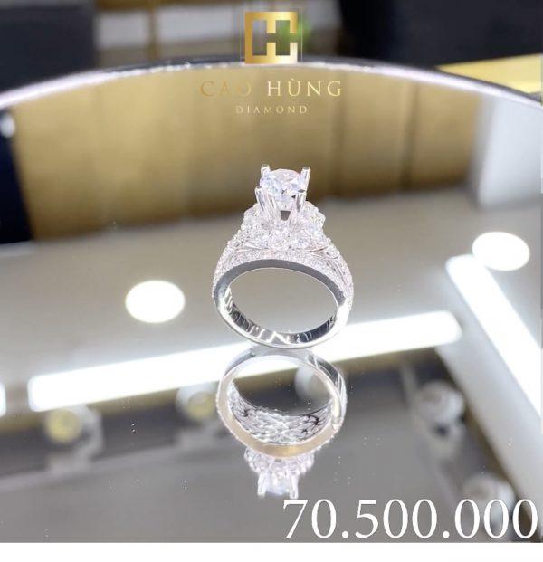 nhẫn kim cương cao hùng diamond 4
