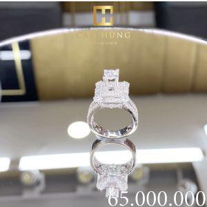 nhẫn kim cương nữ cao hùng diamond