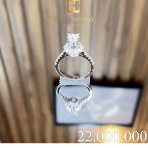 nhẫn kim cương cao hùng diamond 0005