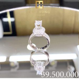 nhẫn kim cương nữ cao hùng diamond 0004