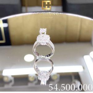nhẫn kim cương nữ cao hùng diamond 0005