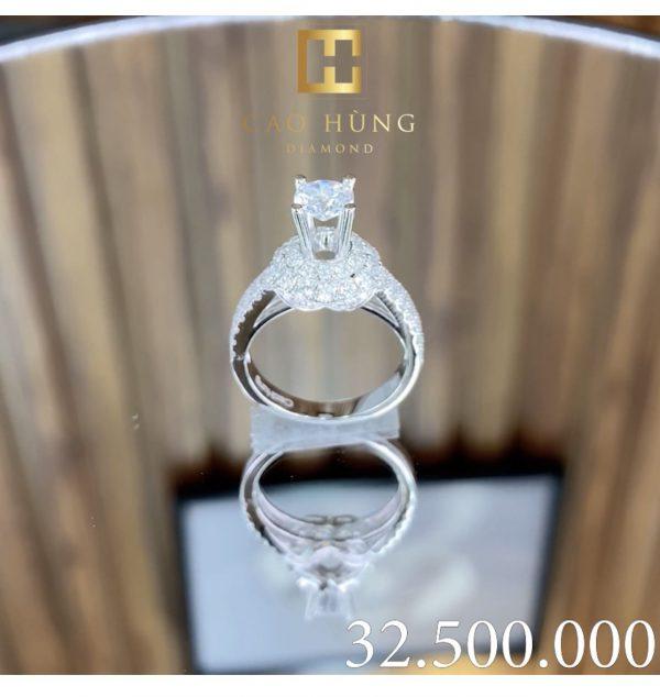 nhẫn kim cương cao hùng diamond 0008