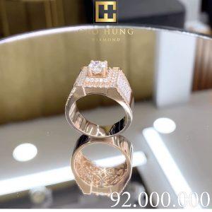 nhẫn kim cương nữ cao hùng diamond 0020