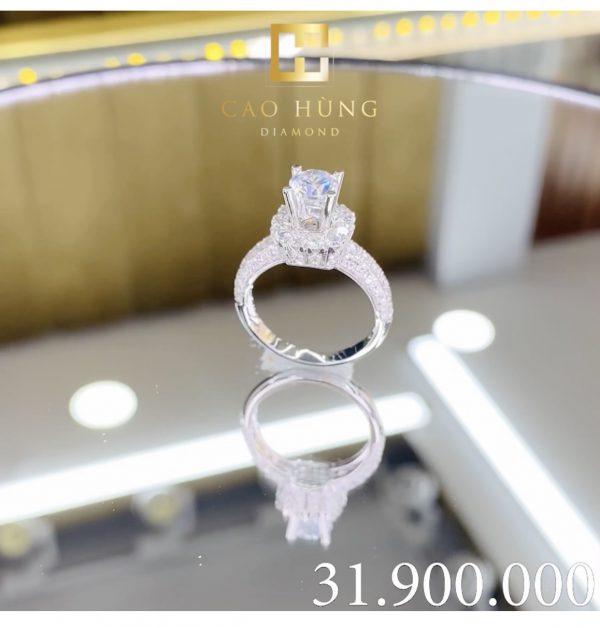 nhẫn kim cương nhẫn xoàn 31