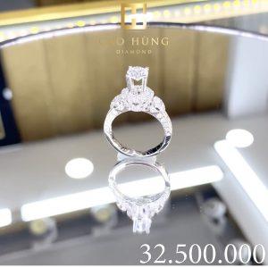 nhẫn kim cương, nhẫn xoàn 32