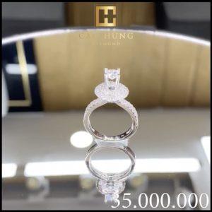 nhẫn kim cương 35
