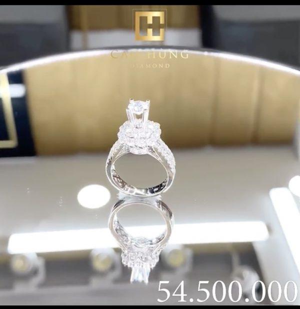 vỏ nhẫn kim cương thiên nhiên