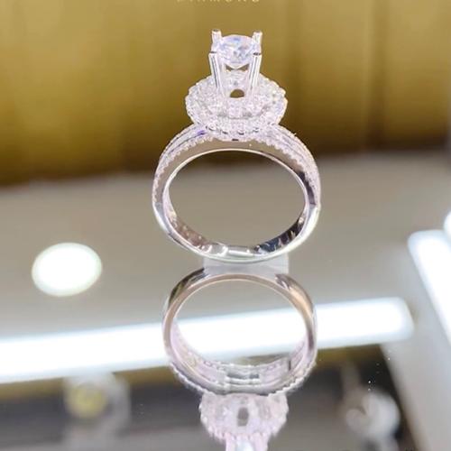 nhẫn kim cương 52tr