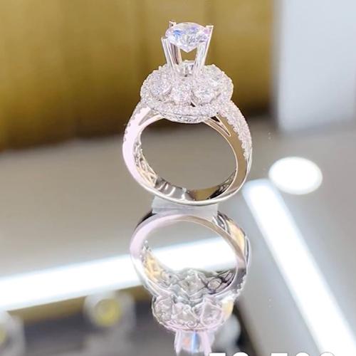 nhẫn kim cương 58tr5