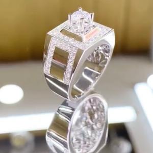 nhẫn kim cương nam cao hùng diamond 42tr5