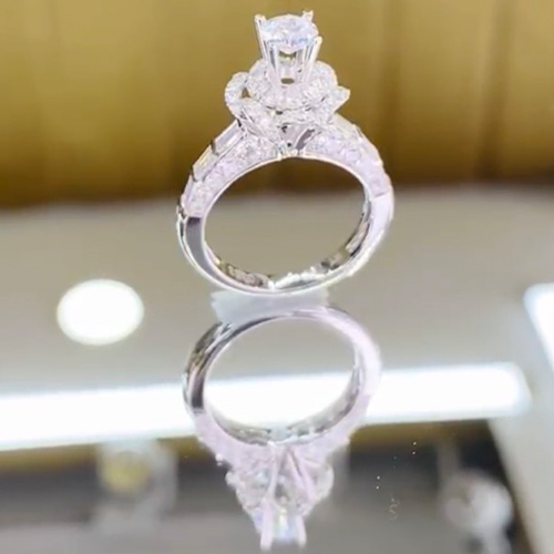 nhẫn kim cương nữ 48tr