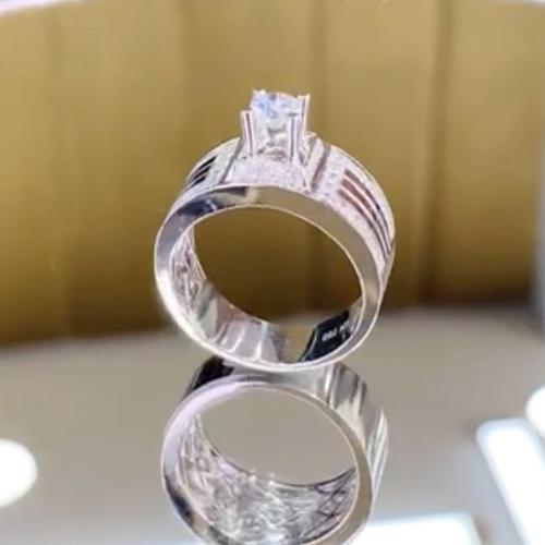nhẫn kim cương nam 31tr5