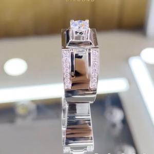 nhẫn kim cương nam 34tr