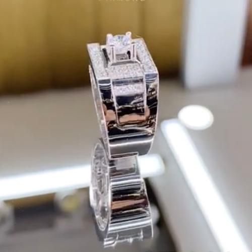 nhẫn kim cương nam 37tr9