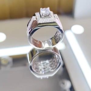 nhẫn kim cương nam 42tr