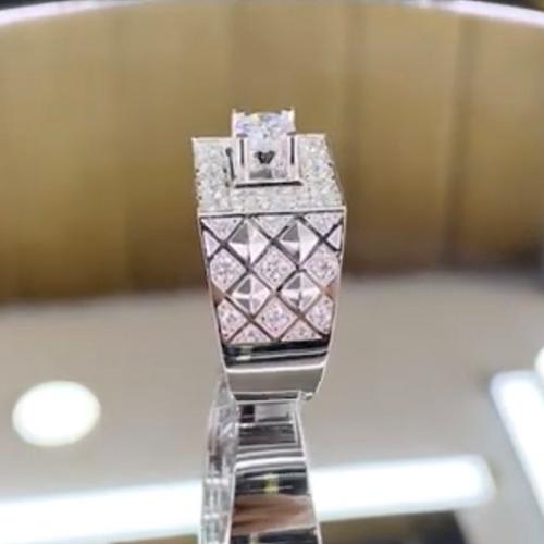 nhẫn kim cương nam 56tr