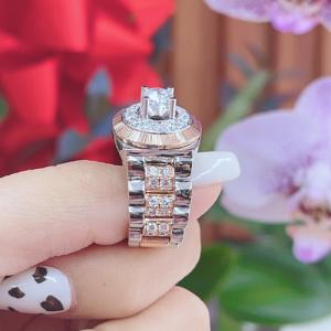 nhẫn kim cương nam 58,2