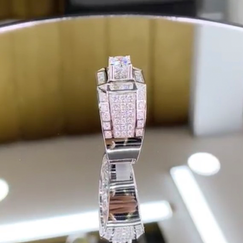 nhẫn kim cương nam 79tr