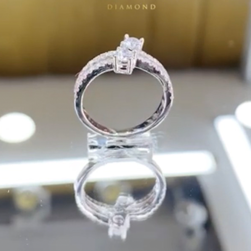 nhẫn kim cương nữ 28tr