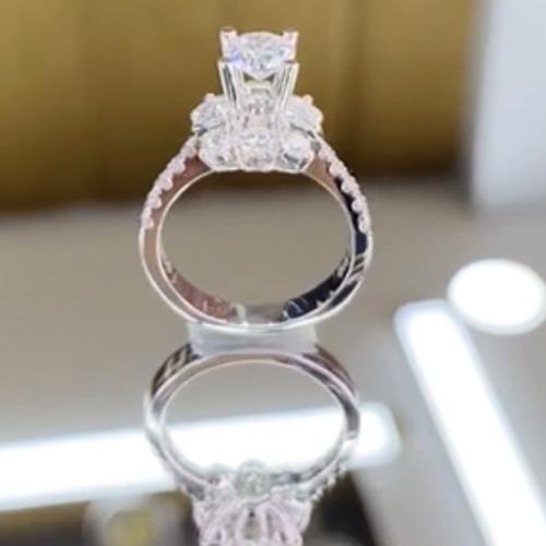 nhẫn kim cương nữ 33tr