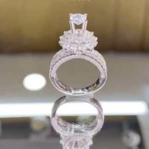 nhẫn kim cương nữ 80tr5